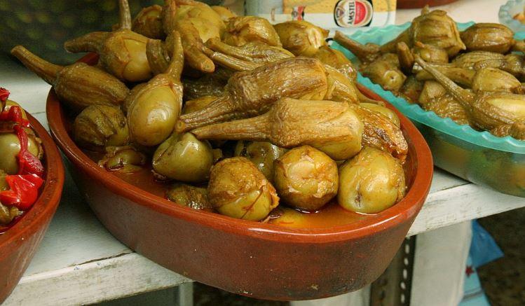 Berenjenas de Almagro comida tipica de ciudad real