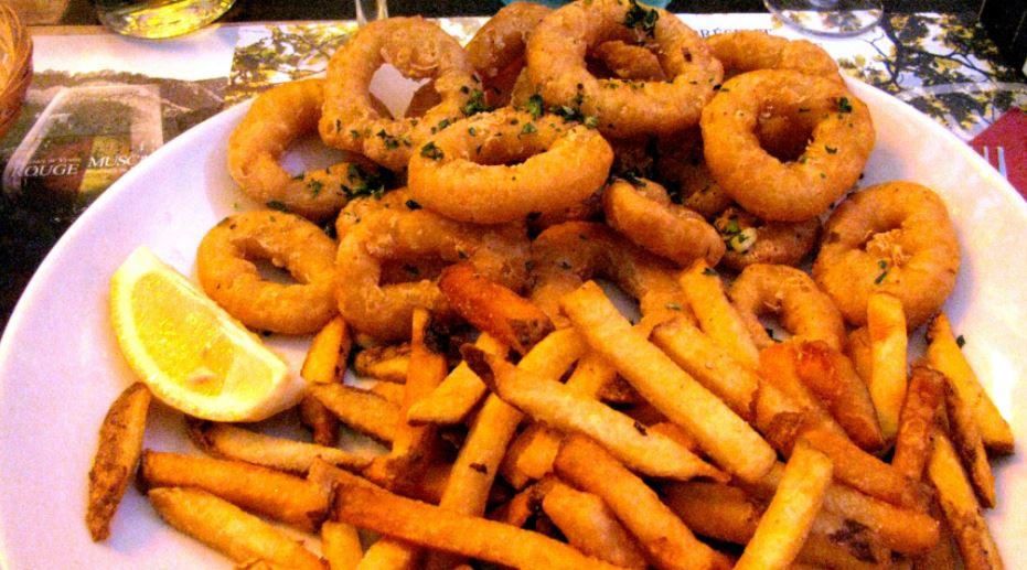 Calamares a la romana productos tipicos catalanes
