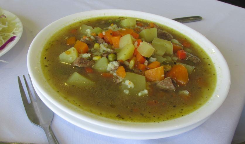 Carbonada cocina chilena