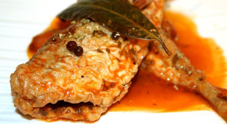 Escabeches con Peces de Rio cocina de merida