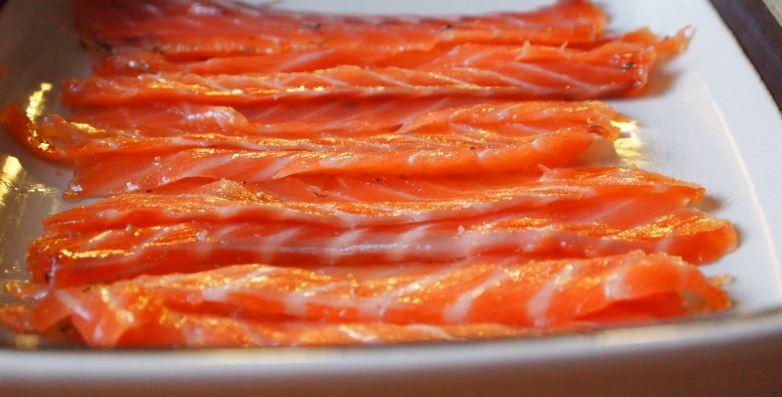 platos tipicos suecos Gravad lax