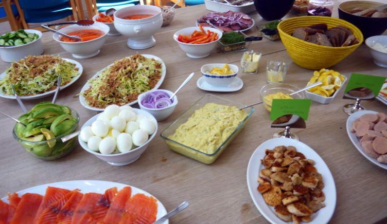 Koldt bord gastronomia danesa