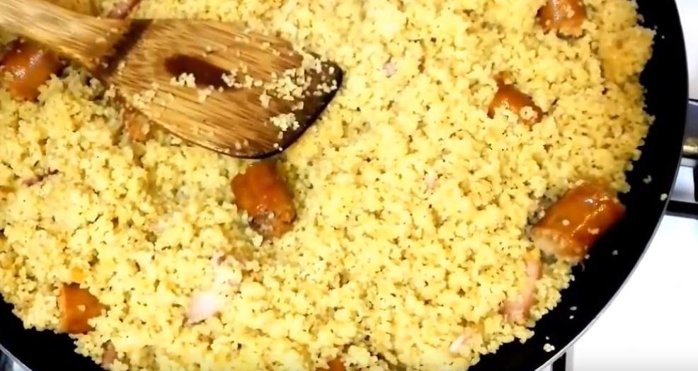 Migas de sémola platos tipicos de almeria