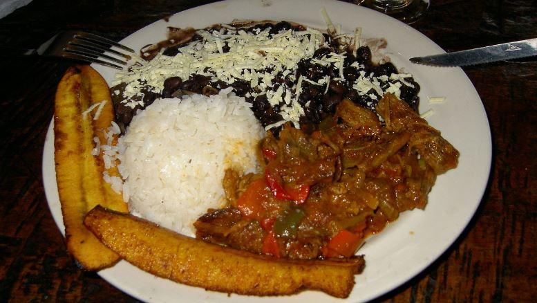 Pabellon Criollo comidas tipicas de venezuela