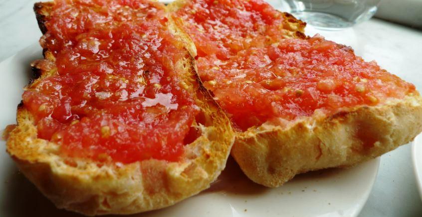 Pan con tomate gastronomia barcelona
