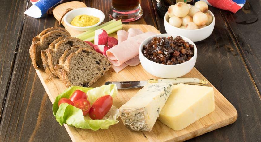 Ploughman's lunch cosas tipicas de inglaterra