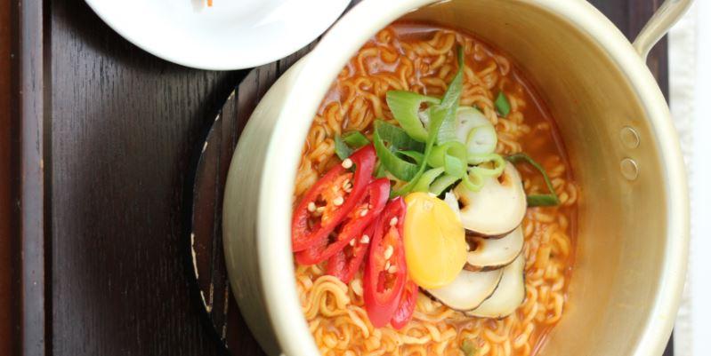 Ramyeon comida koreana