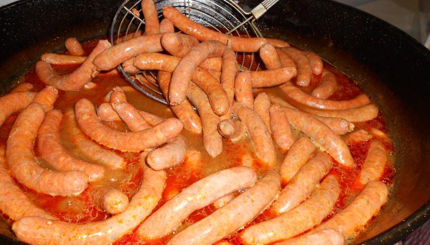 Salchicha de Zaratan platos tipicos de valladolid