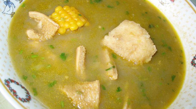 Sancocho de gallina cocina venezolana
