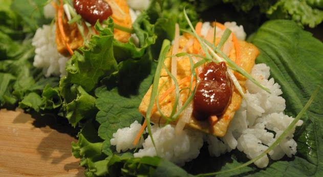Ssambap gastronomía de corea del sur