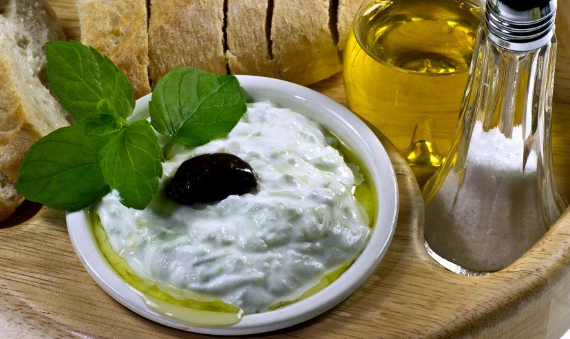Tzatziki gastronomia griega