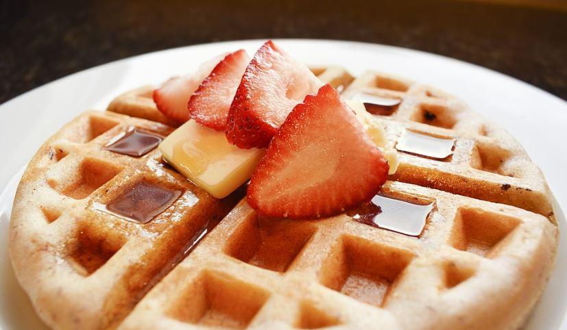 Waffles comida tipica de estados unidos