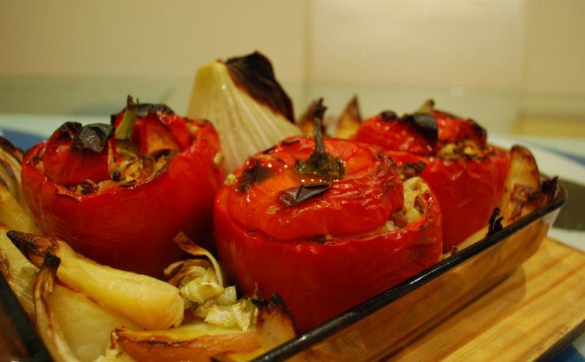 Yemistá comidas tipicas de grecia