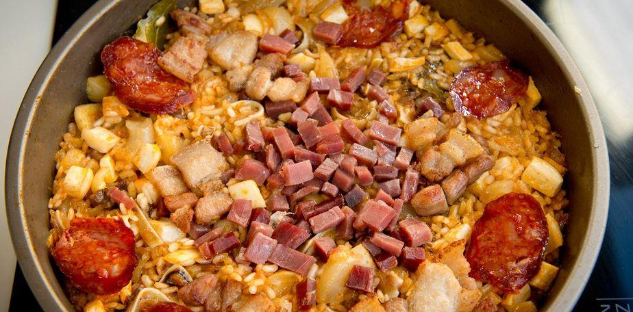 arroz a la zamorana comida española tradicional