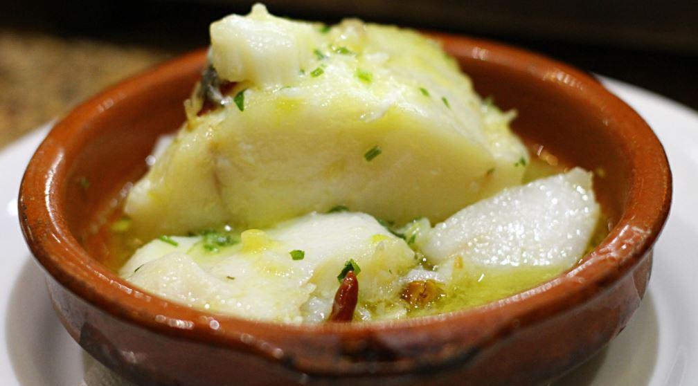 Bacalao al pil-pil gastronomia pais vasco