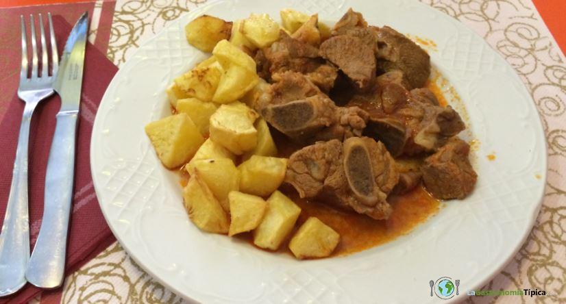Las Comidas típicas en Badajoz