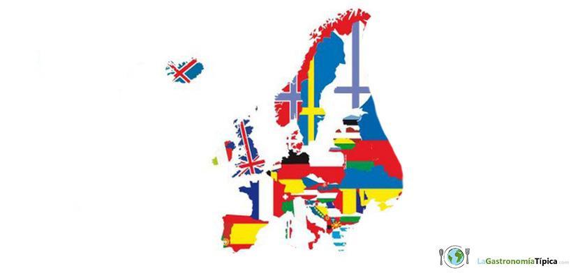 Las Comidas típicas de Europa