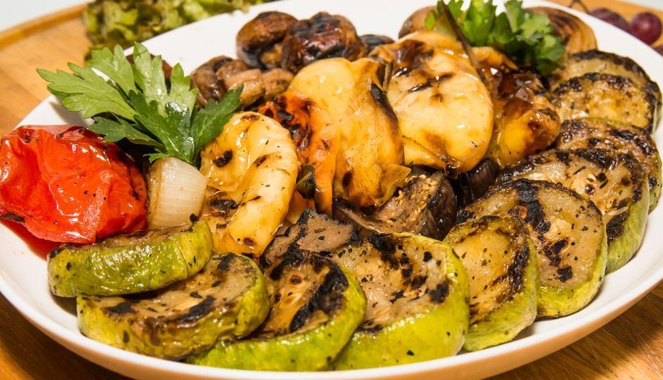 parrillada de verduras gastronomia murciana