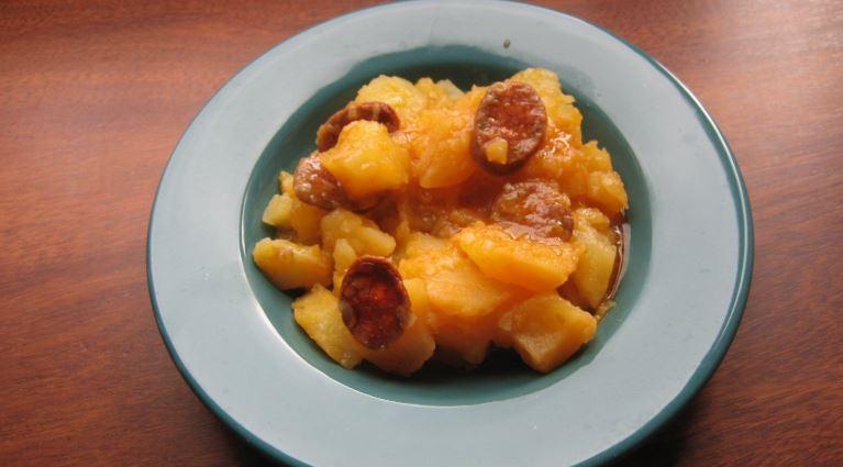 Patatas a la riojana comida tipica de logroño