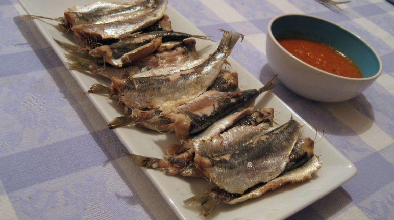 gastronomia de vigo Sardinas asadas