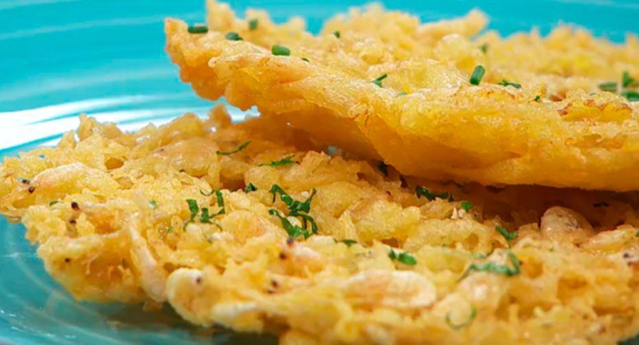 tortilla de camarones andalucia tipica