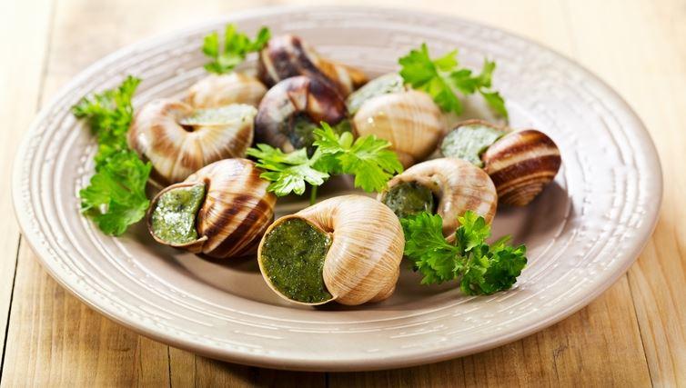 Les escargots de Bourgogne cocina francesa