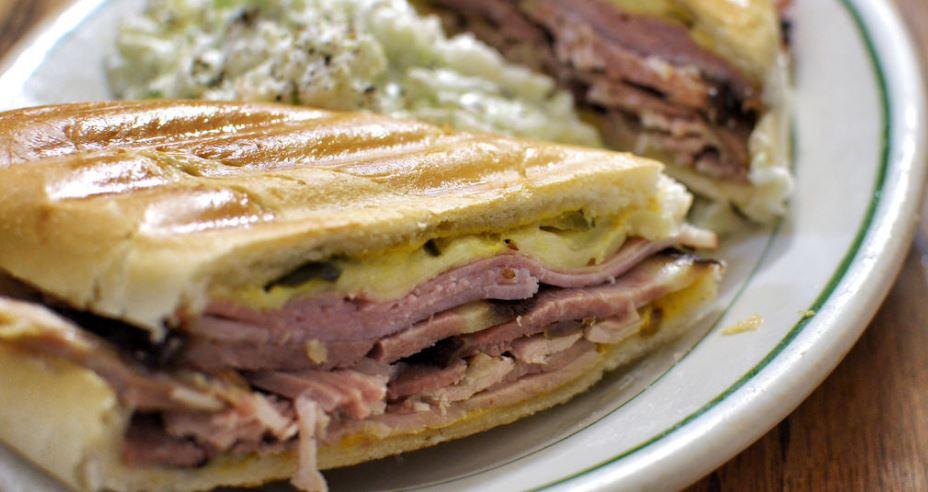Sandwich cubano gastronomia de cuba