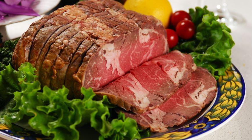platillos tipicos del mundo Roast Beef