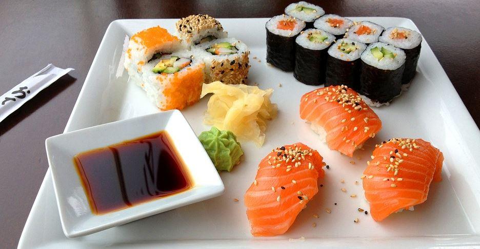 comidas internacionales Sushi japon