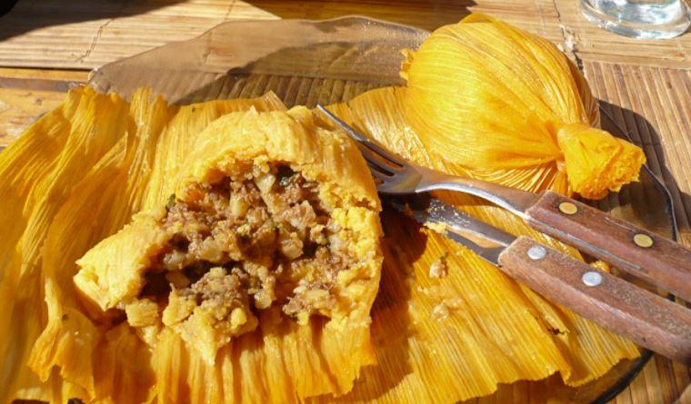 Los tamales son de lo mejor de la gastronomia de Belice