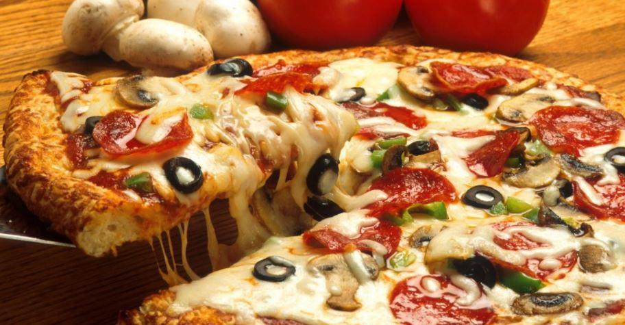comidas internacionales como la pizza