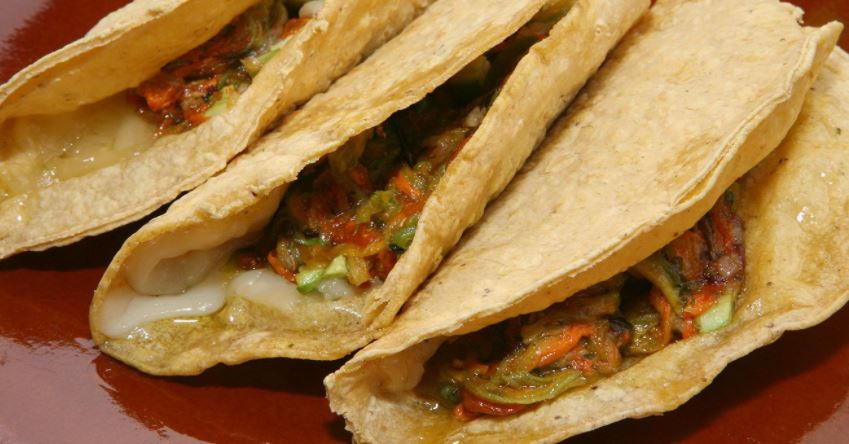 Quesadillas gastronomia en mexico