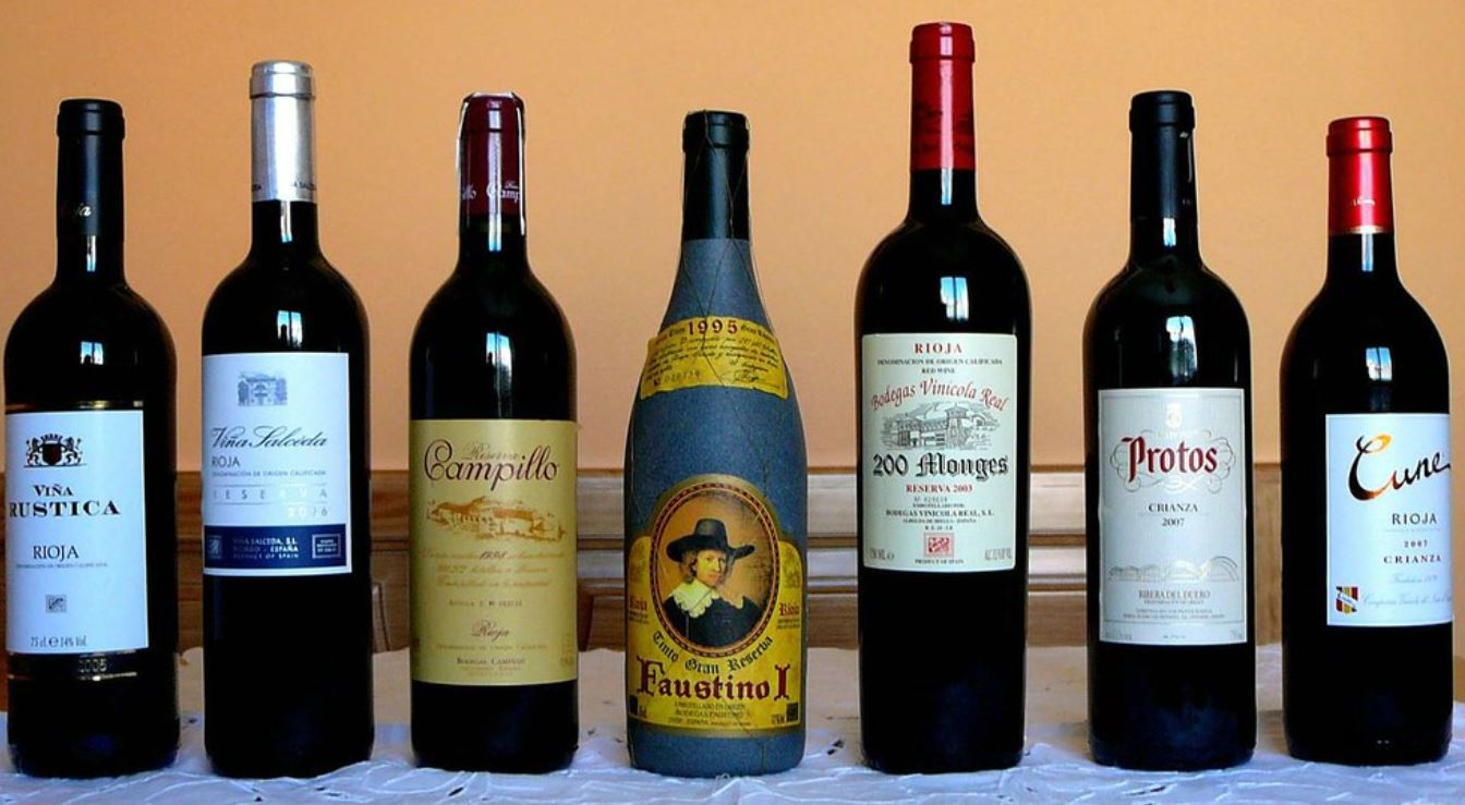Las bebidas tipicas de la Rioja