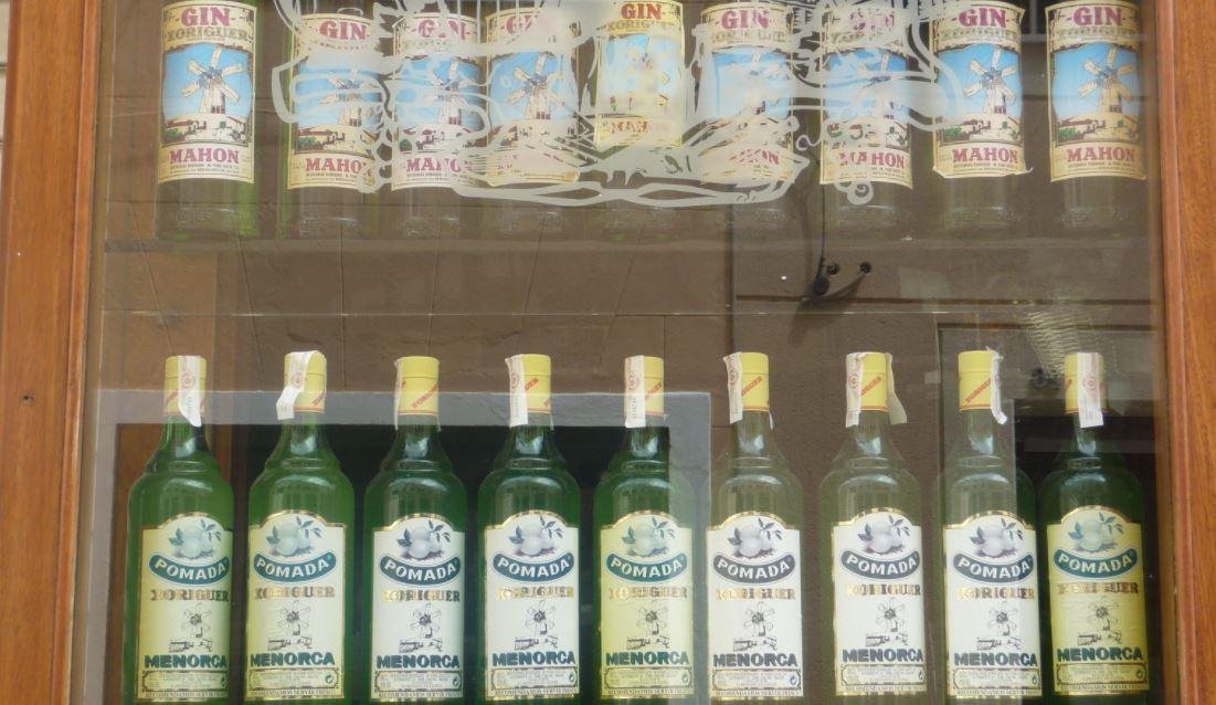 Las bebidas tipicas de Menorca